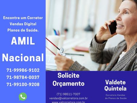 71-98784-0037 - Encontre um Corretor Vendas Digital Amil