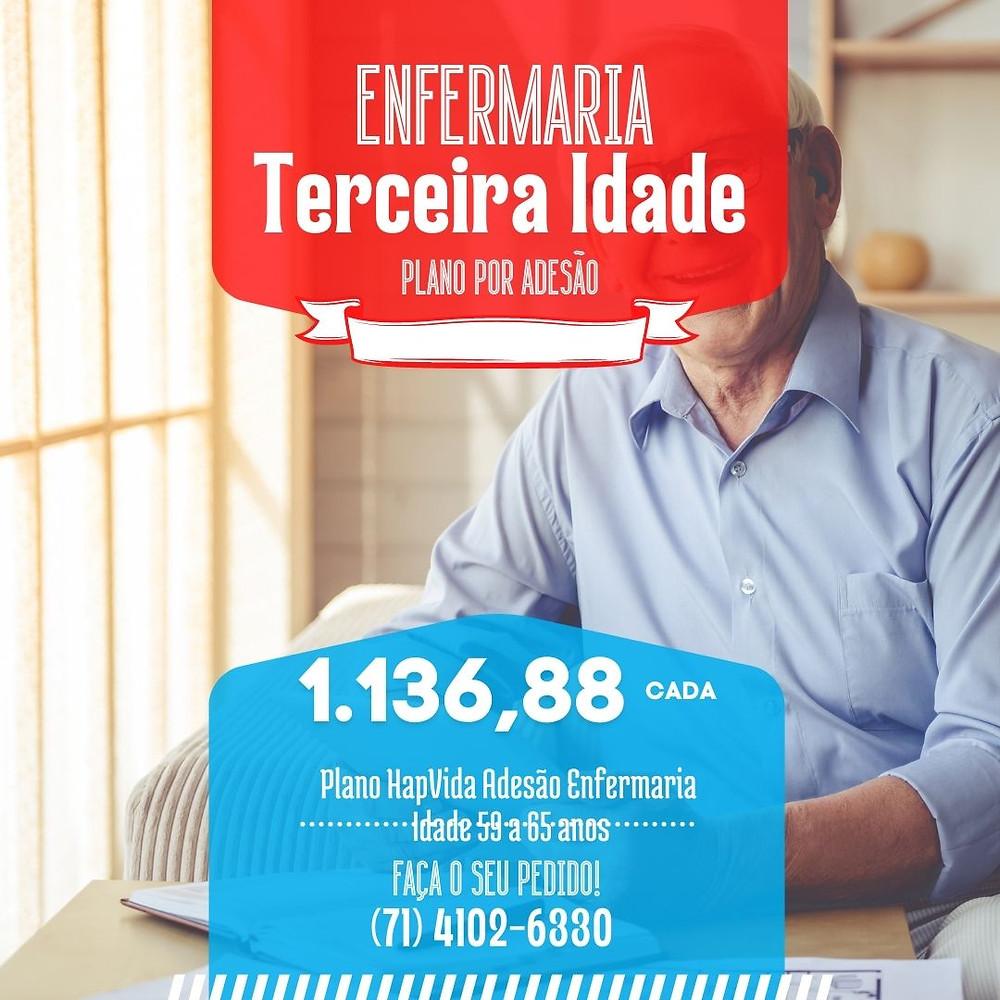 59 a 65 anos Hapvida Adesão Salvador