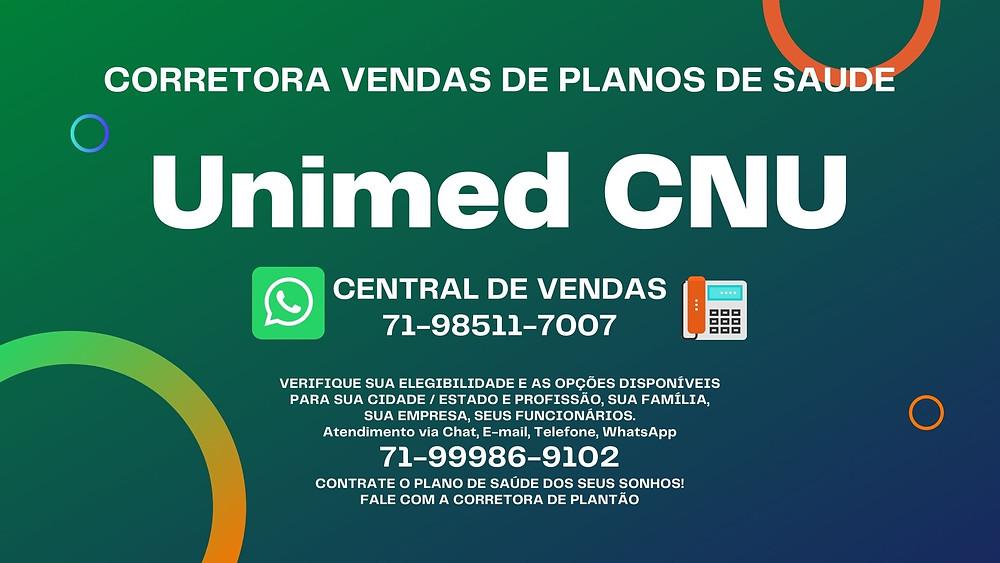 Adesão Unimed CNU - Contratar Plano de Saúde On-line
