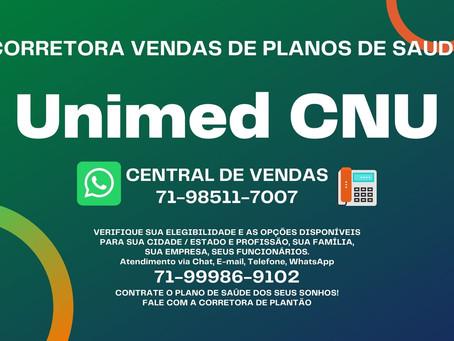 Adesão Unimed CNU - Tipos de planos da Unimed 0865