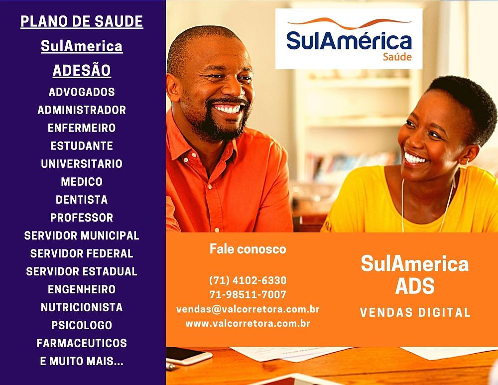 PREÇOS SUL AMERICA SAÚDE NA BAHIA PLANO DE SAUDE SUL AMERICA SALVADOR-BA PLANO DE SAUDE SUL AMERICA VALORES ADESÃO BAHIA