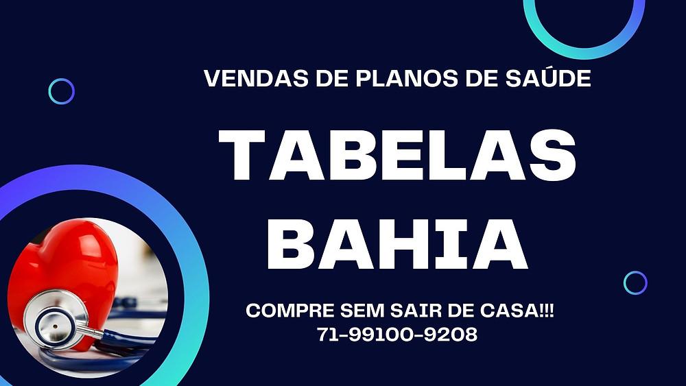 Tabelas de Preços plano de Saude na Bahia -Amil por Adesão Individual - BA