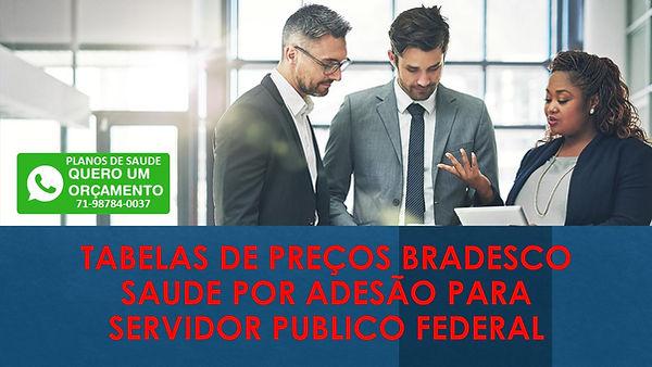Tabelas dePreços Bradesco Saude Adesão na Bahia