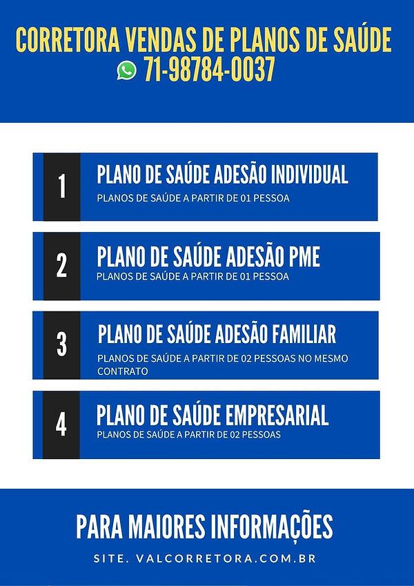 PLANO DE SAUDE - CORRETORES - VENDAS