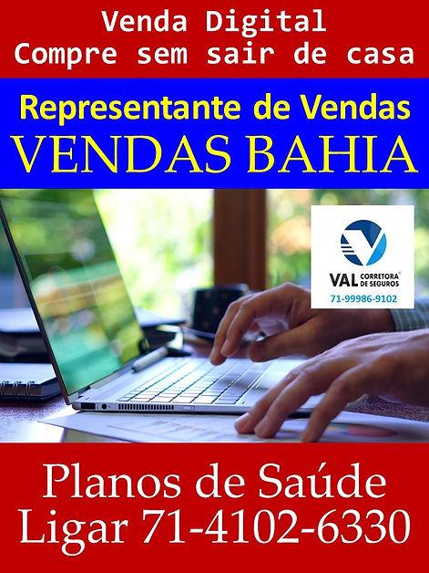 VENDAS DIGITAL PLANOS DE SAUDE - BAHIA