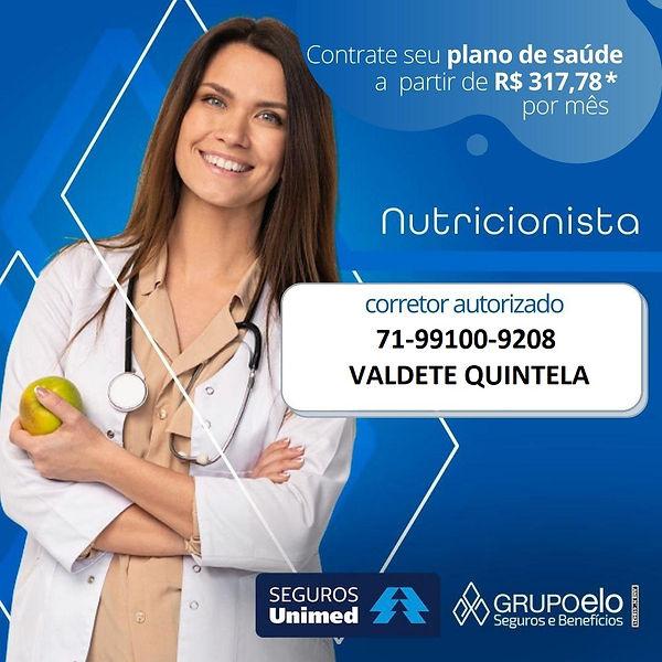 SEGUROS UNIMED TABELAS PARA NUTRICIONIST