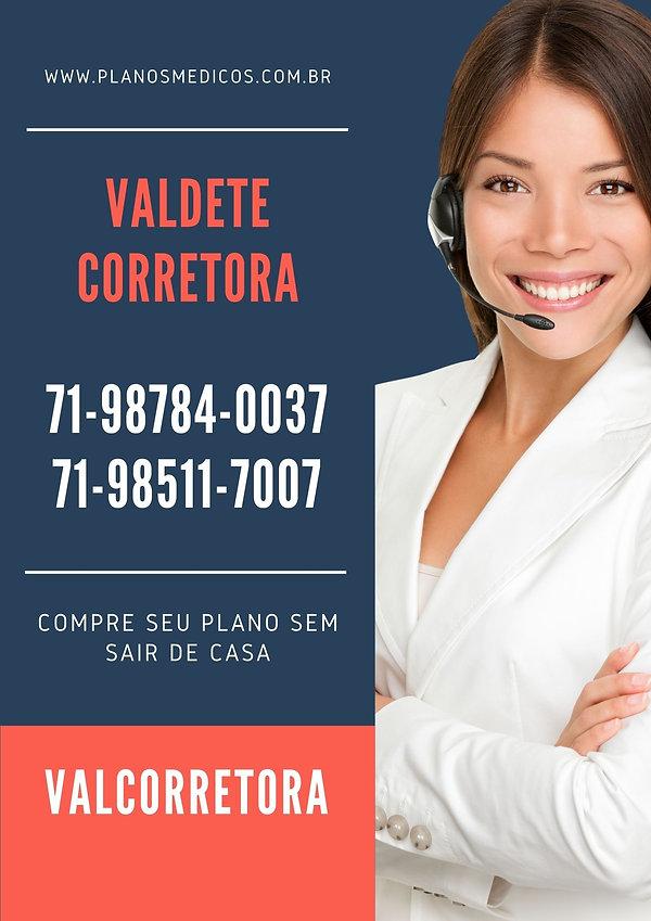 VALDETE - CORRETORA VENDAS DE PLANOS DE SAUDE BRADESCO
