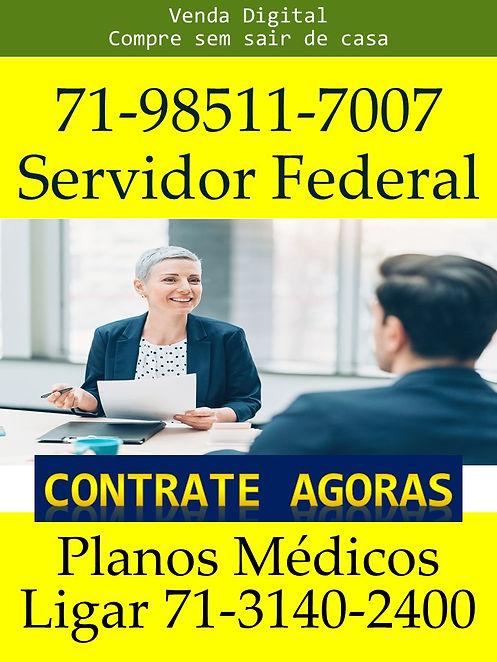 SERVIDOR PUBLICO FEDERAL - PLANOS MEDICO