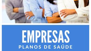 Empresas: Tabelas Comparativas Planos de Saude