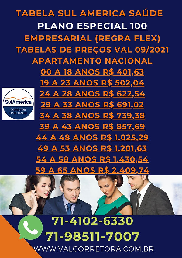 PME FLEX ESPECIAL 100 SULAMERICA EMPRESARIAL