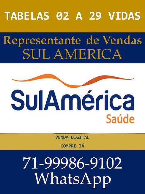 TABELAS 02 A 29 VIDA SUL AMERICA SAUDE