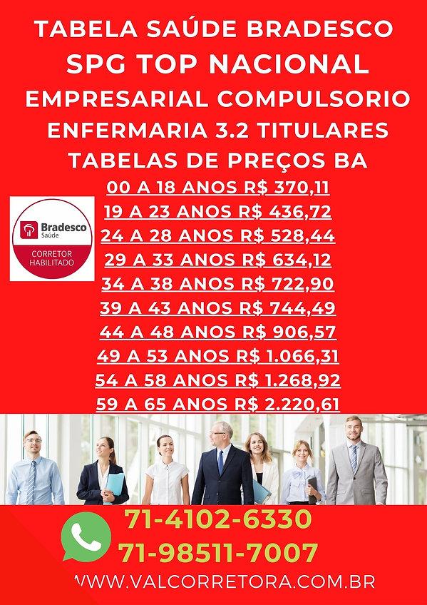 3.2 SPG BRADESCO SAUDE, SAUDE BRADESCO PLANO EMPRESARIAL
