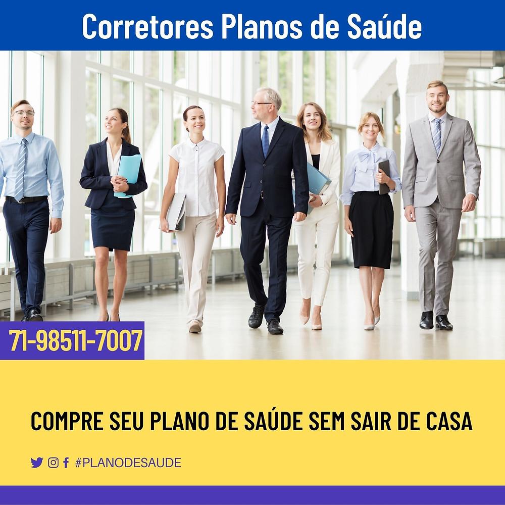EQUIPE DE VENDAS CORRETORES VENDAS DE PLANOS DE SAUDE