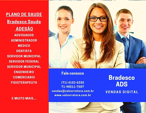 saude bradesco ads Planos de SaudeBahia