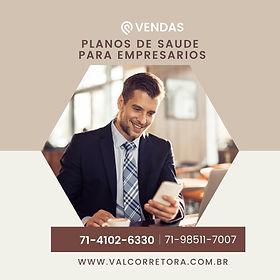 tabelas empresarios, Corretora Representante de Vendas Bahia- PlanosdeSaude