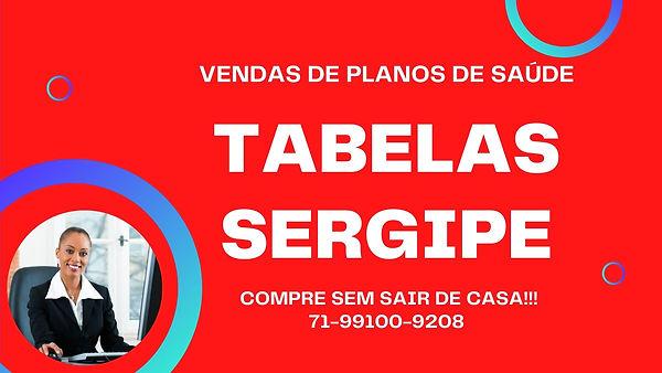 TABELAS SERGIPE