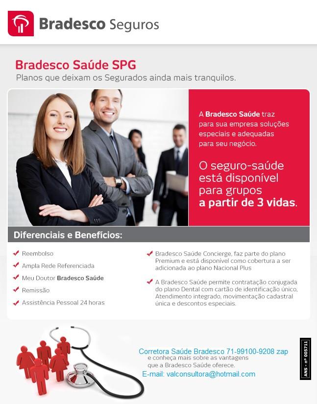 Tabelas de Preços - Bradesco Saude Empresarial - Bahia
