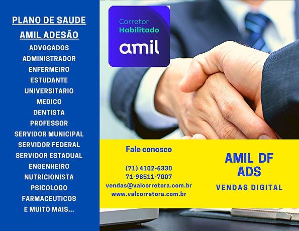 AMIL DF, Plano de Saude por Adesão  AMIL ADS Brasilia  Tabelas Allcare DF