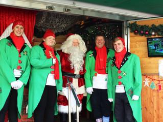 Santa's Mobile Grotto