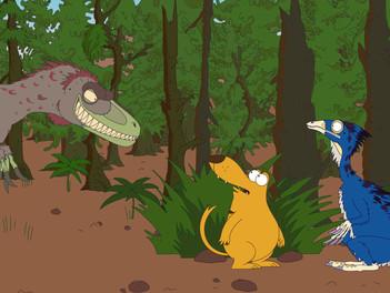 Second prix pour Ralph et les dinosaures