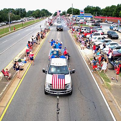 Colbert 4th of July Parade