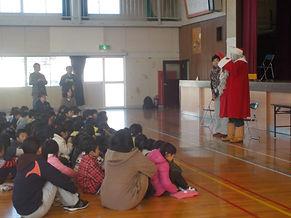 栃木県でサンタクロース訪問