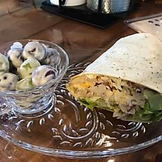 MONDAY - Chicken Bacon Ranch Wrap