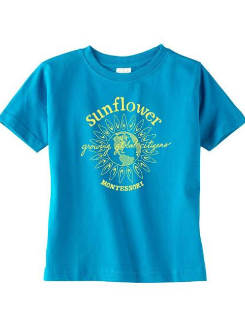 Kid's Sunflower T Shirt