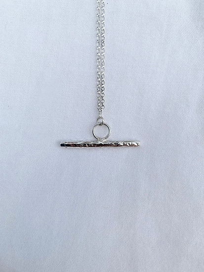 Earth T-Bar Necklace