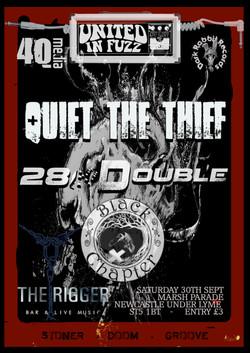 QTT 28d and BC rigger 30th sept
