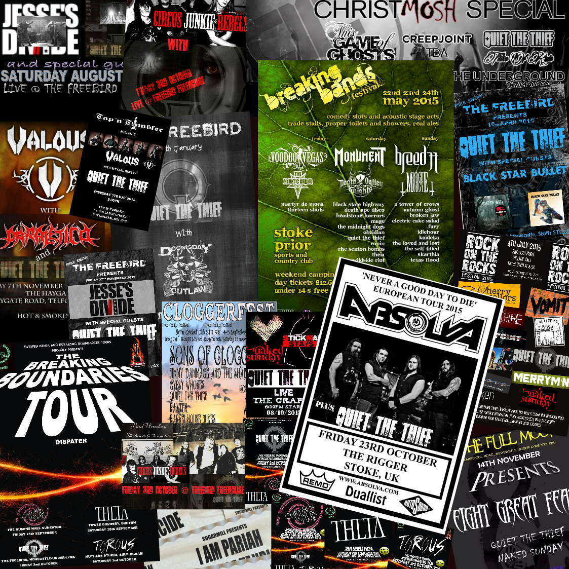 all gigs 2015