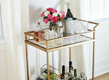 3 Tips to Create the Perfect Bar Cart