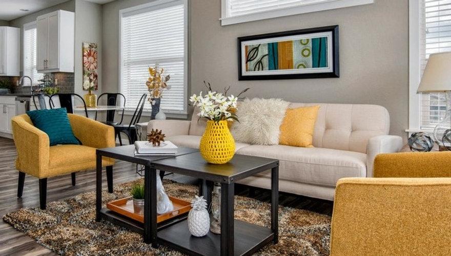 Contemporary Living Room designed by Jodi Maturo