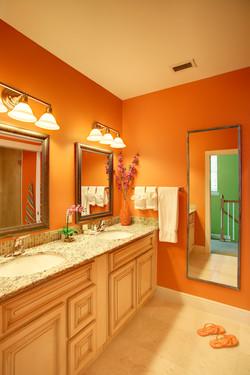 Bayside Orange Bath