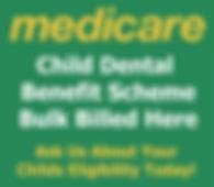 Medicare child dental benefit scheme bulk billed