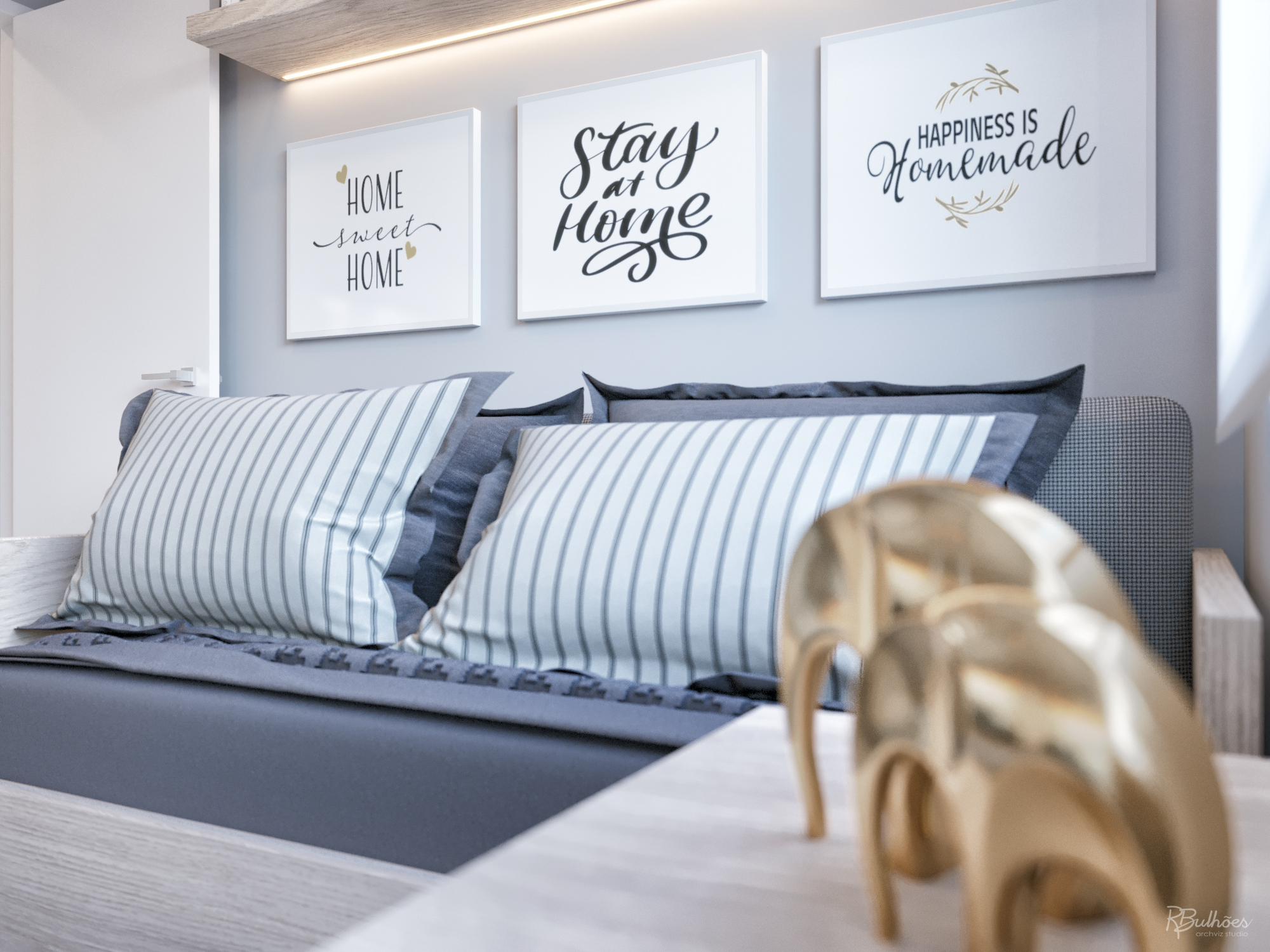 Stay Home | Decorado virtual