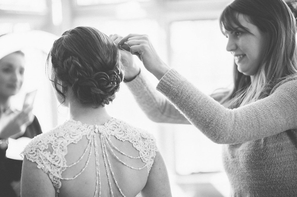 bridal hair stylist bristol