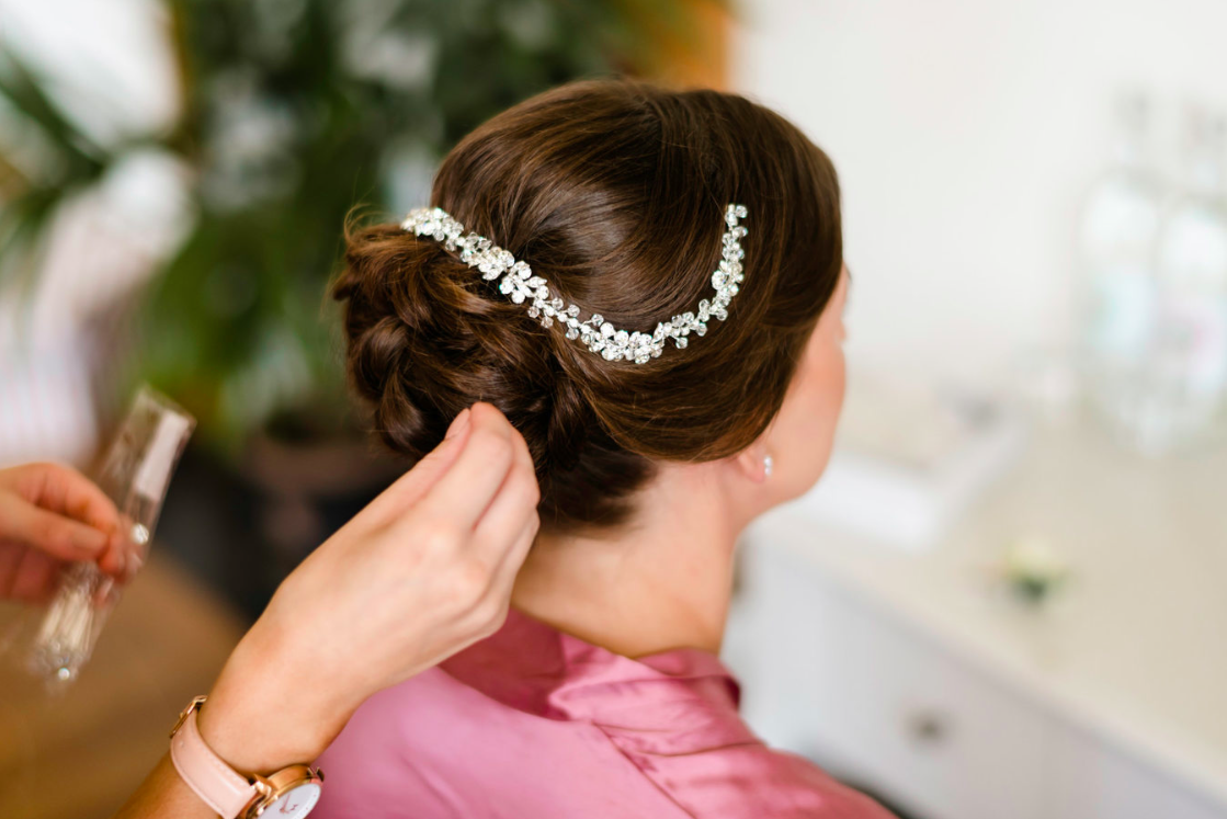 Coombe Lodge Wedding Hair