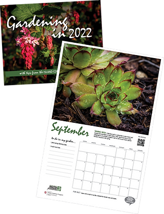 Island County Master Gardener 2022  Calendar
