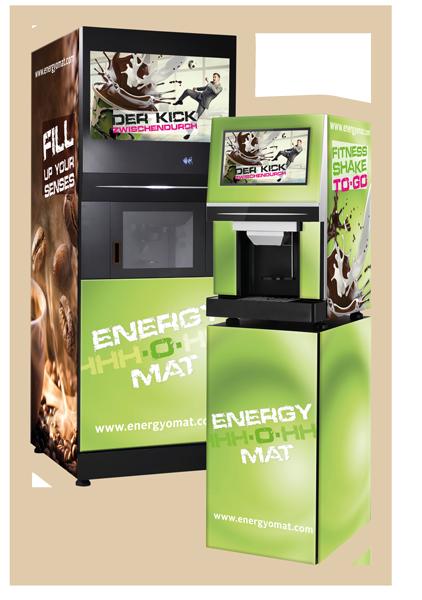 ENERGY-O-MAT: Als 3-in-1-Getränkeautomat für Heiß- und Kaltgetränke oder als compact