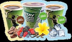 ENERGY-O-MAT – Eiweißshakes, heißer Kaffee und Iced Coffee Shakes aus einem Automaten