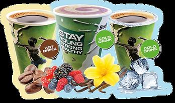 ENERGY-O-MAT   Der weltweit erste Getränkeautomat für Heiß- & Kaltgetränke   Innovatives 3-in-1-Hightech-System   Proteinautomat, Eiweißshake-Automat, Kaffeeautomat