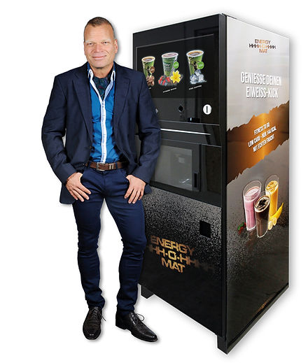 Andreas Michael Gutekunst empfiehlt ENERGY-O-MAT –  Das MUST HAVE für Gym, Fitnessstudio, Sportschule, Freizeitanlage und Sporthotel