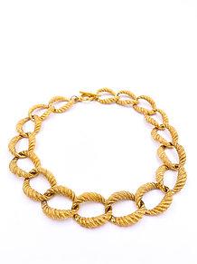 Anne Klein Gold Chain Necklace