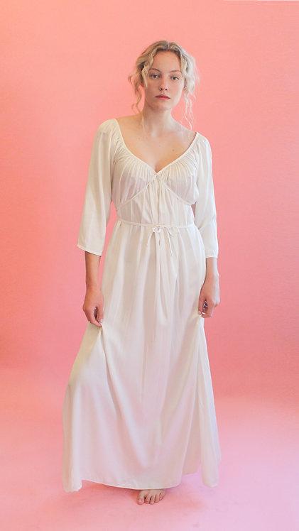 Jane Booke Silk Crossbody Tie Dress