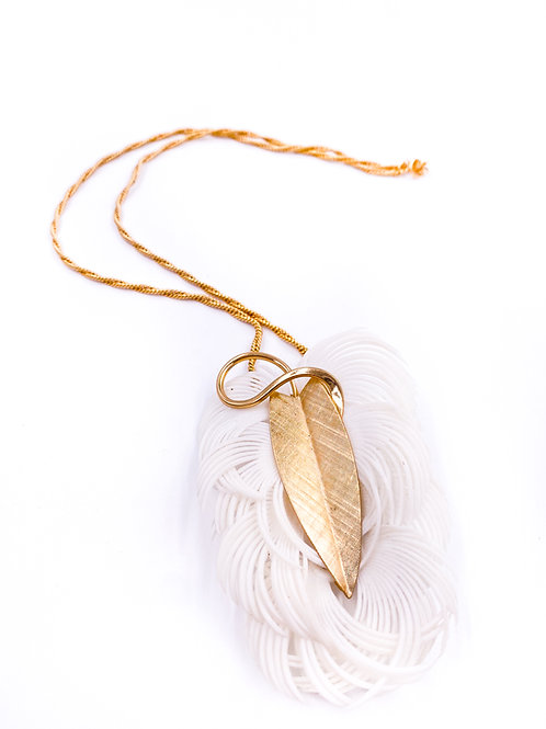 Napier Feather Necklace