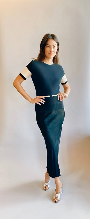 Rick Owens Knit & Satin Dress