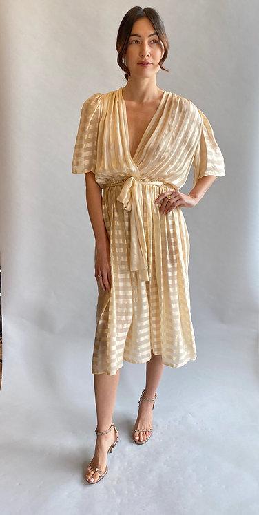 Diane Von Furstenberg, 1970's/80'sSilk Wrap Dress