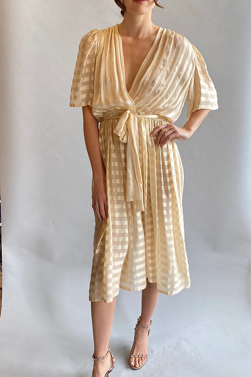 Diane Von Furstenberg, 1970's/80'sSilk Wrap Dress