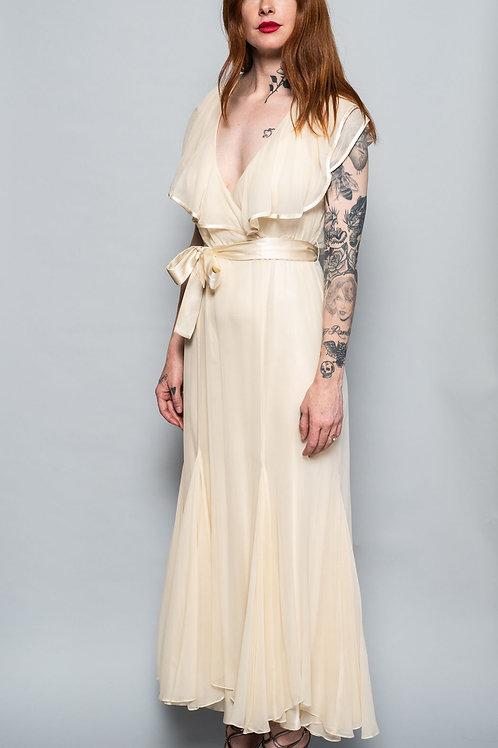 Norma Kamali Chiffon Gown